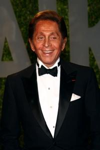Valentino Garavani at the 2009 Vanity Fair Oscar Party.