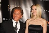 Valentino Garavani and Gwyneth Paltrow at the New York premiere of