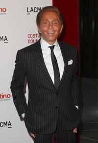 Valentino Garavani at the Los Angeles premiere of