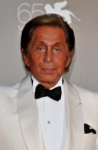 Valentino Garavani at the premiere of