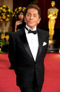 Valentino Garavani at the 81st Annual Academy Awards.