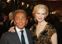 Valentino Garavani and Nicole Kidman at the New York premiere of
