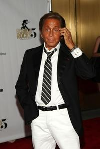 Valentino Garavani at the Conde Nast Media Group's Fifth Annual Fashion Rocks.