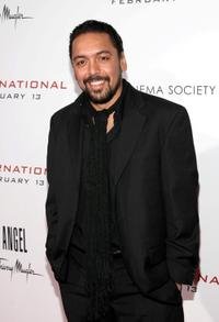 Felix Solis at the screening of