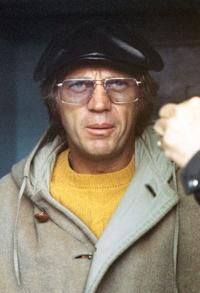 Steve McQueen at the 24 hours in Le Mans endurance race.