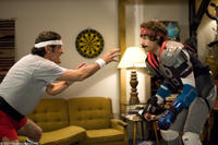 Frank Powell (Ian McShane) and his step-son Rod Kimble (Andy Samberg) have a contentious relationship in