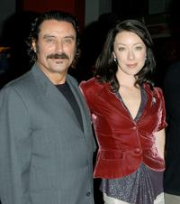 Ian McShane and Molly Parker at the HBO's Telefilm Premiere of