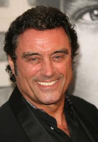 Ian McShane at the premiere of HBO's