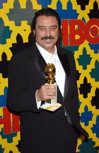 Ian McShane at the HBO Golden Globe After Party.