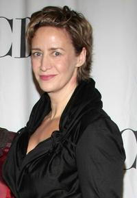 Janet McTeer at the 2009 Tony Awards Meet the Nominees press reception.