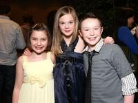 Mackenzie Milone, Elle Fanning and Ian Colleti at the after party of the screening of