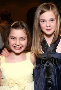 Mackenzie Milone and Elle Fanning at the after party of the screening of