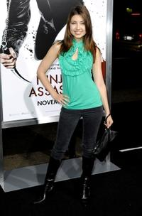 Shelby Young at the premiere of