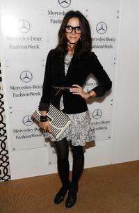 Abigail Spencer at the Mercedes-Benz Fashion Week Spring 2011 Official Coverage.