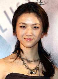 Tang Wei at the Japanese premiere of