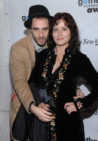 Director Sebastian Silva and Catalina Saavedra at the IFP's 19th Annual Gotham Independent Film Awards in New York.
