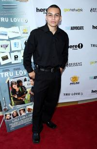 Joseph Julian Soria at the premiere of