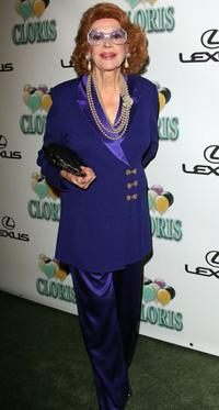 Jayne Meadows at the celebration for Cloris Leachman's 60 years in show business.