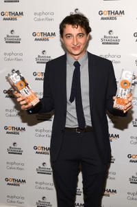 Benh Zeitlin at the IFP's 22nd Annual Gotham Independent Film Awards in New York.