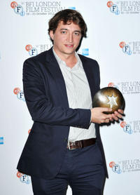 Benh Zeitlin at the Sutherland Awards during the 56th BFI London Film Festival.