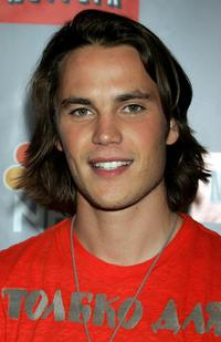 Taylor Kitsch at the NBC All-Star Event.