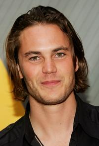 Taylor Kitsch at the NBC Upfronts.