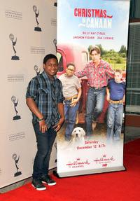 Jaishon Fisher at the screening of