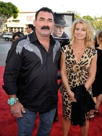 Don Frye and Molly at the 2009 Los Angeles Film Festival.