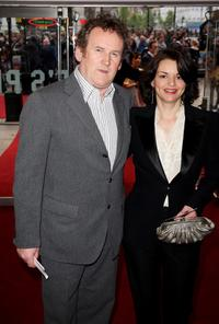 Colm Meaney and Guest at the world charity premiere of