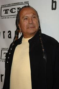 Russell Means at the premiere screening and party of