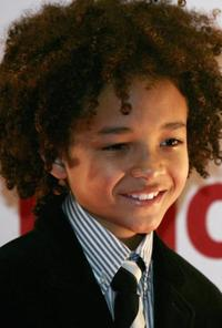Jaden Smith at the Italian premiere of