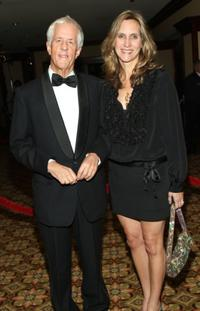 Michael Apted and Dana Stevens at the 60th Annual DGA Awards.