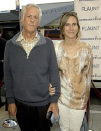 Michael Apted and Dana Stevens at the premiere of