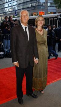 Michael Apted and Dana Stevens at the world premiere of
