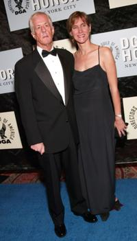 Michael Apted and Dana Stevens at the 4th Annual Directors Guild of America Honors.