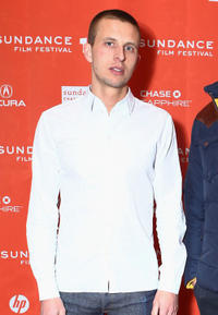 Anders Danielsen Lie at the premiere of