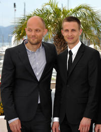 Writer Eskil Vogt and Anders Danielsen Lie at the photocall of