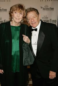Anne Meara and her husband Jerry Stiller at the Actors Fund of America