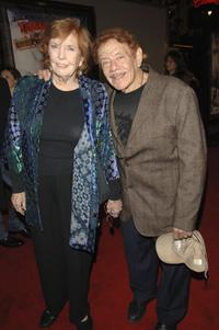 Anne Meara and husband Jerry Stiller at the premiere of