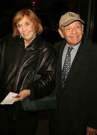 Anne Meara and Jerry Stiller at the opening night of