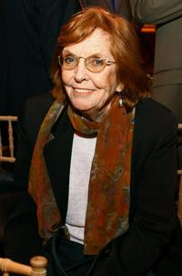 Anne Meara at the Rwanda reception during the 2007 Tribeca Film Festival.