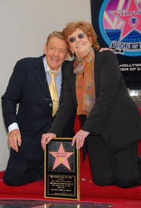 Anne Meara and Jerry Stiller receive a star on the Hollywood Walk of Fame.