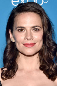 Hayley Atwell at the Disney+ Showcase during Disney's D23 Expo 2019 in Anaheim, California.