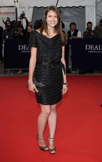 Louise Monot at the screening of