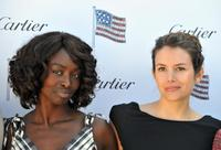 Aissa Maiga and Louise Monot at the 35th edition of the American Film Festival.