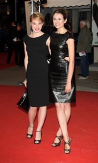 Deborah Francois and Louise Monot at the screening of