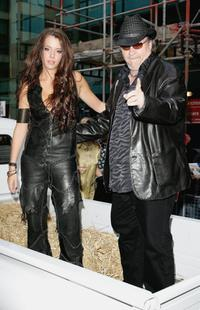 Meatloaf and Marian Raven at the Kerrang! Awards.