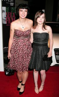 Diablo Cody and Ellen Page at the Centerpiece Gala screening of