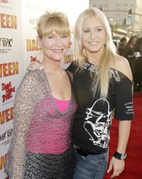 Dee Wallace Stone and her daughter Gabrielle at the premiere of