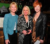 Dee Wallace Stone, Tippi Hedren and Frances Fisher at the Actors Fund Musical Mondays.